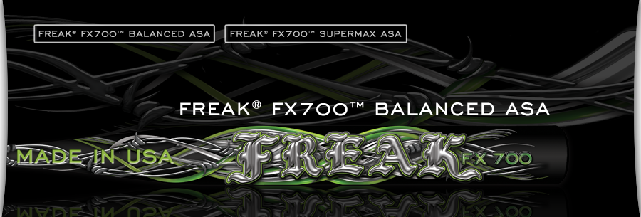 Miken Freak FX 700 Comp ASA Slow Pitch Softball Bat